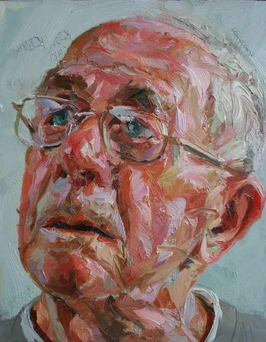 Modern Zeitgenossisch Professionelle Portratmalerei