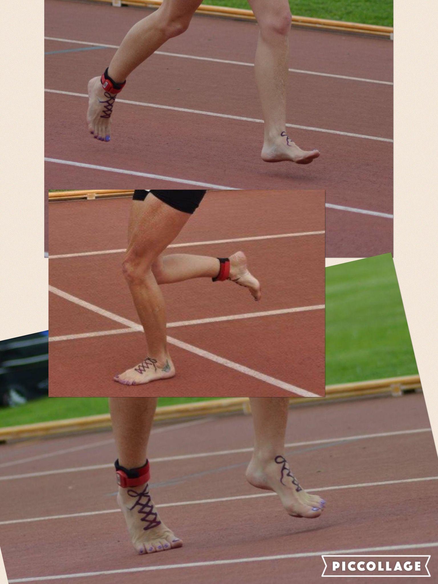 Track Ultra, 119.6km run real barefoot.