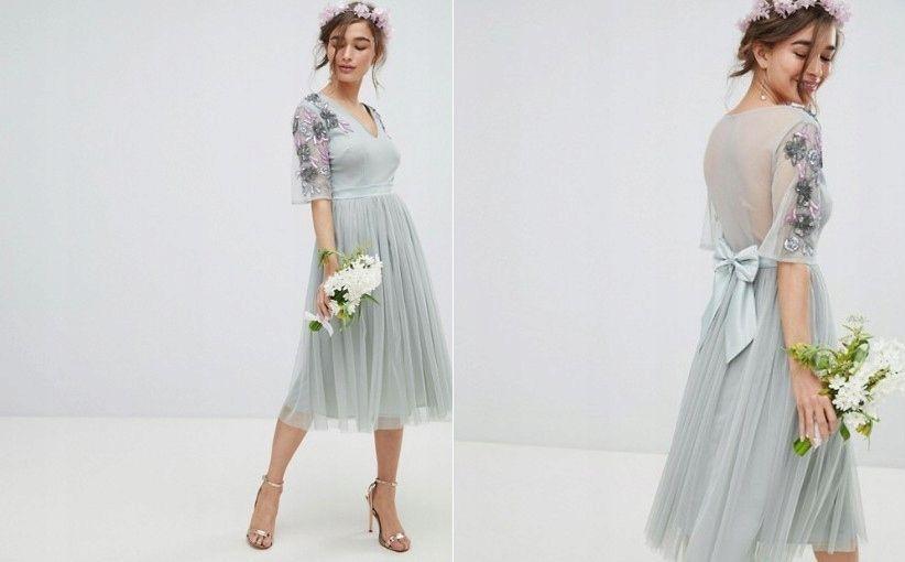 D4l205 Maya Petite Sukienka Midi Ozdoby 38 M V00 8052675955 Oficjalne Archiwum Allegro Dresses Victorian Dress Fashion