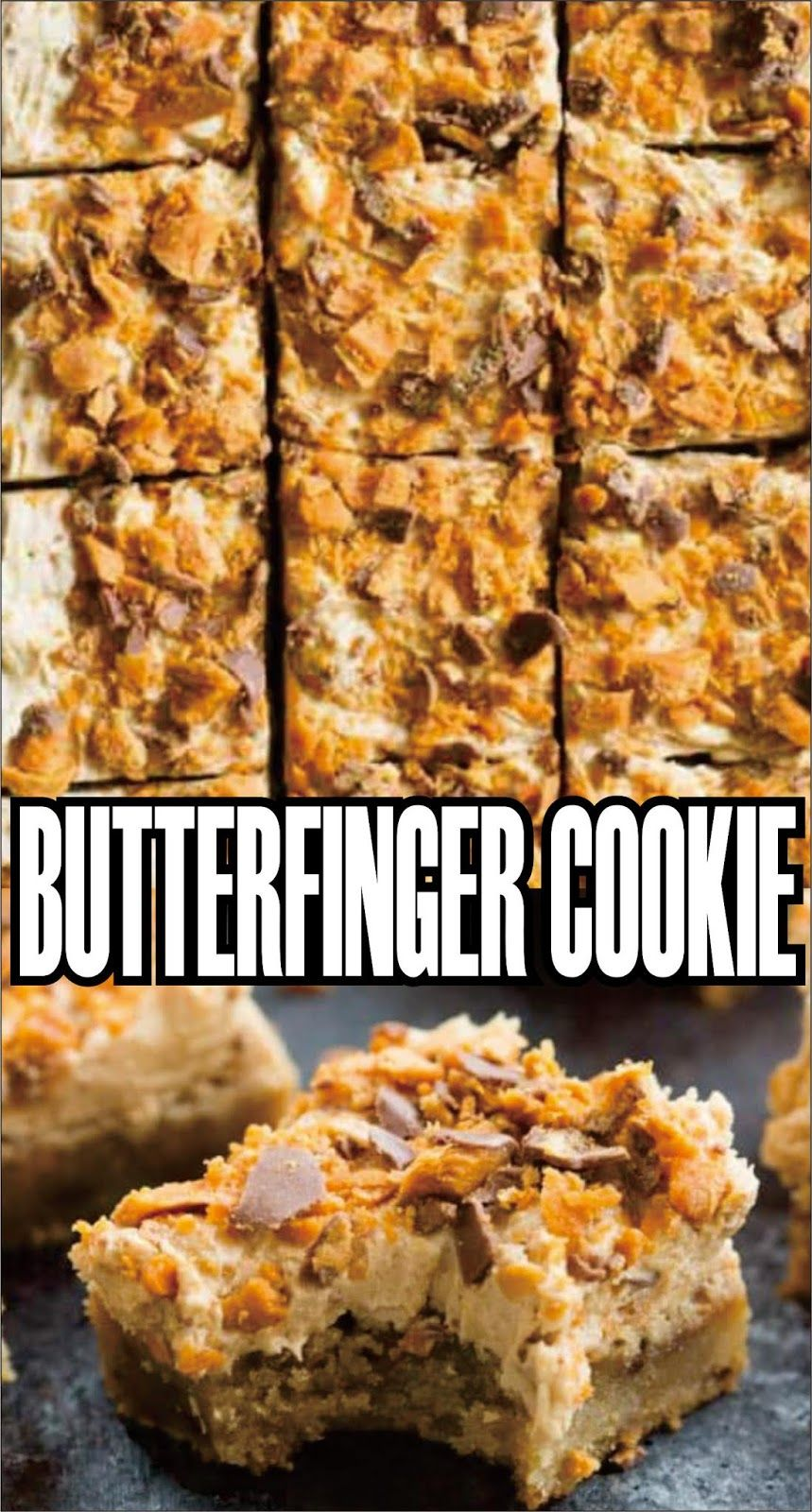Butterfinger Cookie - Easy Kraft Recipes