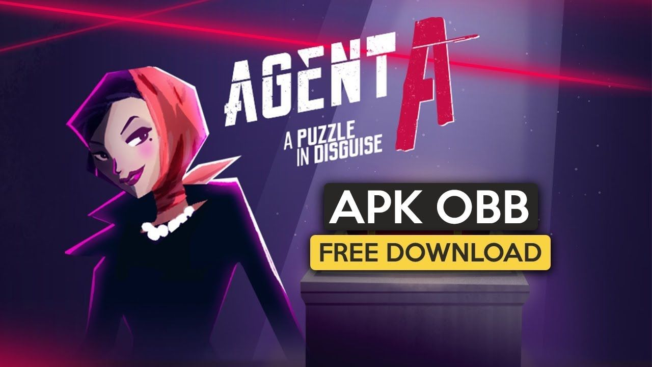 Agent A: A puzzle in disguise Apk OBB for Android free