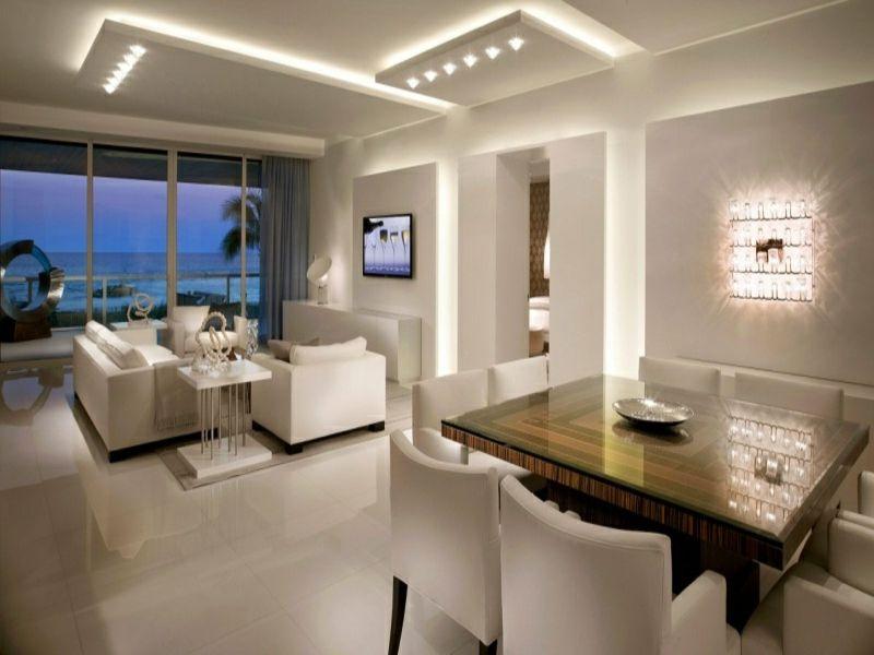 50 Ideen für behagliche indirekte Beleuchtung - ideen für indirekte beleuchtung im wohnzimmer