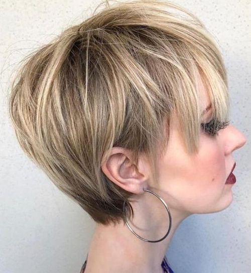 Popular Short Blunt Haircuts 2019 For Women To Look Pretty And