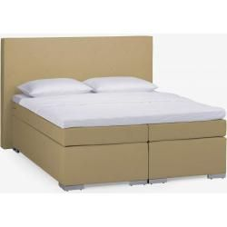 Photo of Dico, Polster Boxspringbett Beverly Bs9050, 160×220 cm, 2xH3, Kunstleder C15 beige, DicoDico