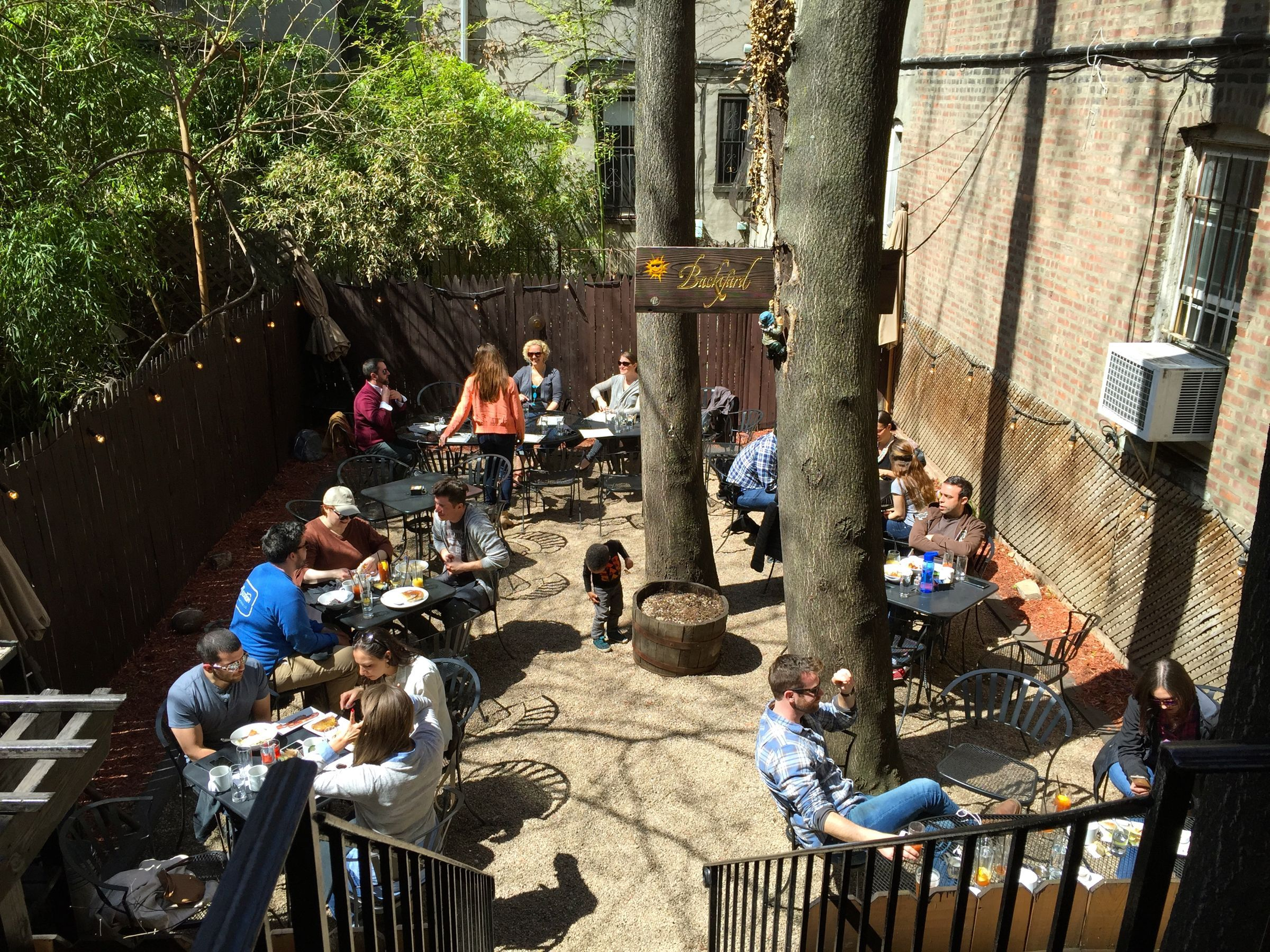 Restaurants with outdoor seating -- from backyards to ...