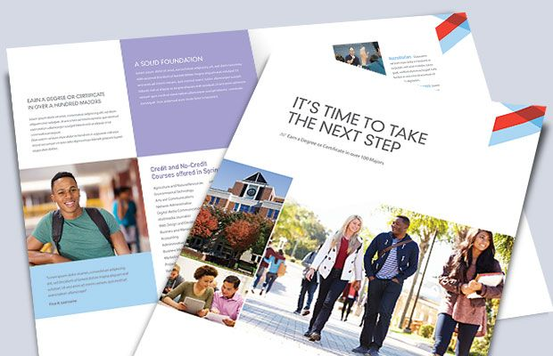 College Brochure Design By StockLayouts Wwwstocklayoutscom - College brochure templates