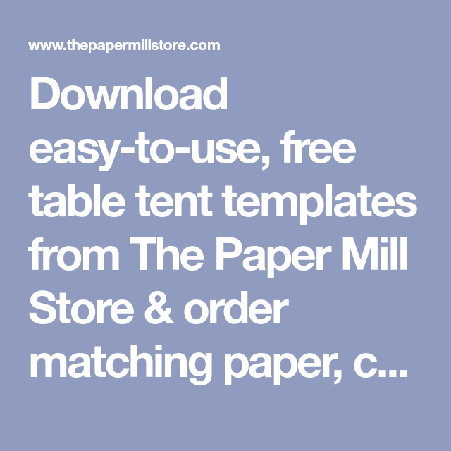 Terrific Table Tent Templates Free Printable Pdf Templates For Table Download Free Architecture Designs Fluibritishbridgeorg