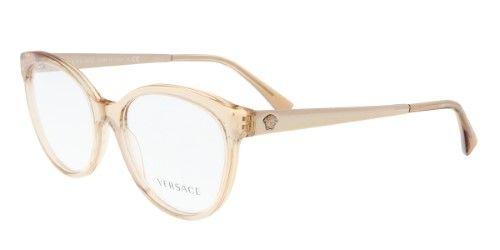 59ef2ea8f83c Versace VE3237 5215 Transparent Brown Cateye Phantos Optical Frames ...