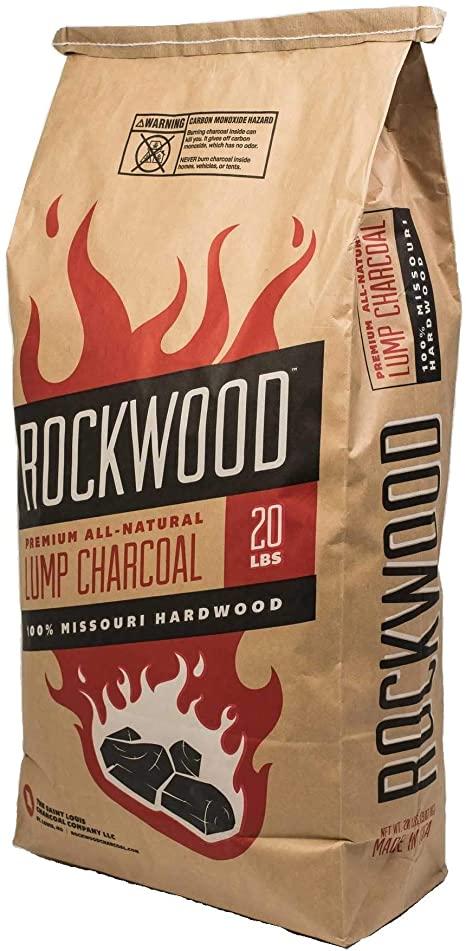 Rockwood AllNatural Hardwood Lump Charcoal Missouri Oak