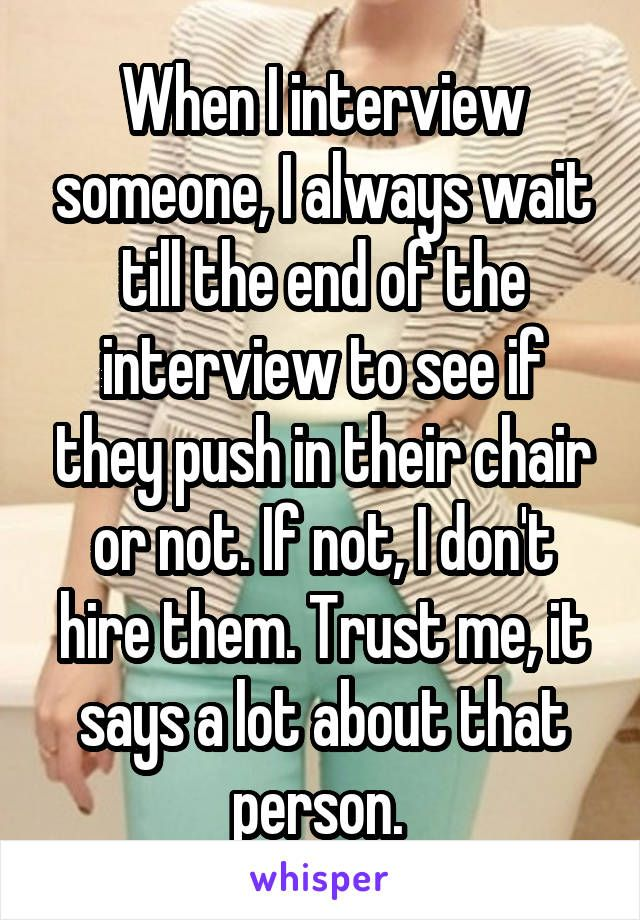 Whisper App.  Confessions from hiring managers.