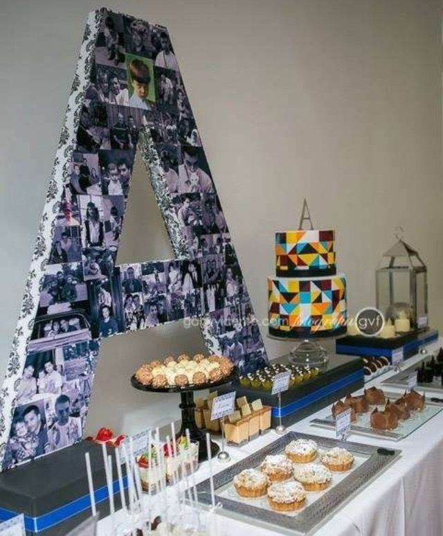make a large 40 40th bash Pinterest Sweet 16 Birthdays and