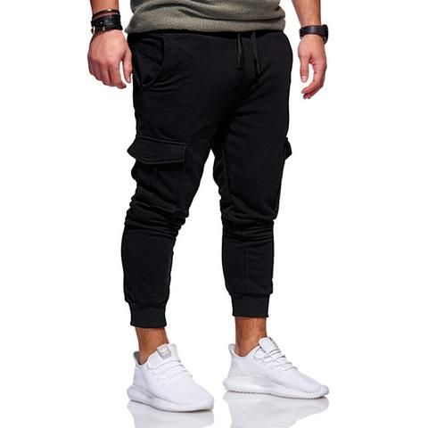 7fdaf80e55f New 2019 Men Cargo Pants Fashion Tactical Joggers Fitness Workout Pockets  Sweatpants Plus Size 4XL Casual Hip Hop Male Trousers