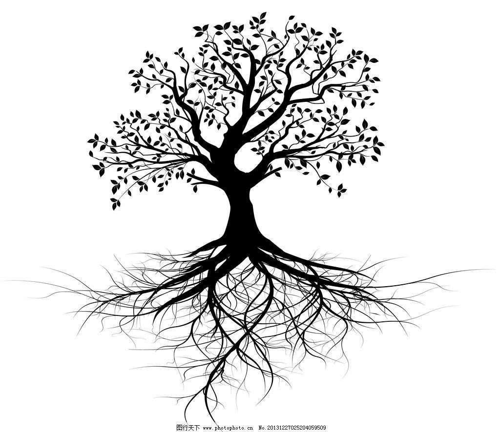 Oak Tree With Roots Tattoo: Tree Roots Tattoo, Roots Tattoo, Life