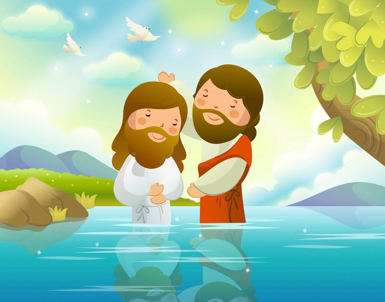 Pin By Carol Hurtado On Cebra John The Baptist Jesus Cartoon Bible Illustrations