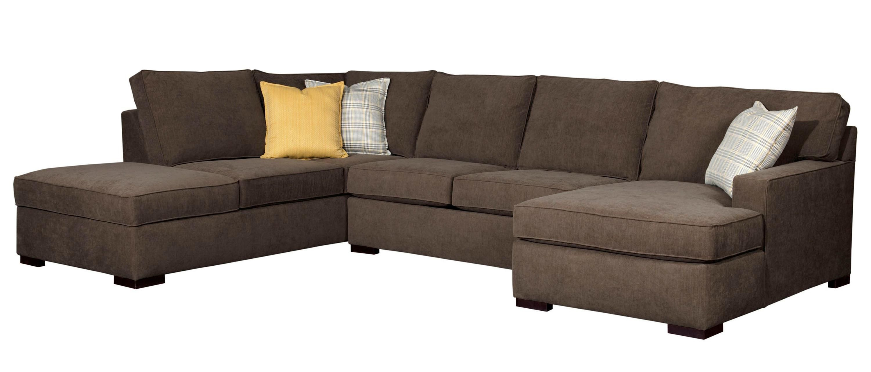 Raphael Contemporary Sectional Sofa with RAF corner