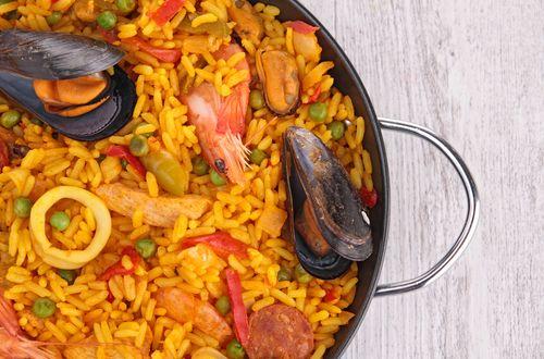 Recetas360 Com Que Cocinar Hoy De Comer Recetas Posibles De Hacer Paella De Mariscos Platos De Mariscos Recetario De Comida