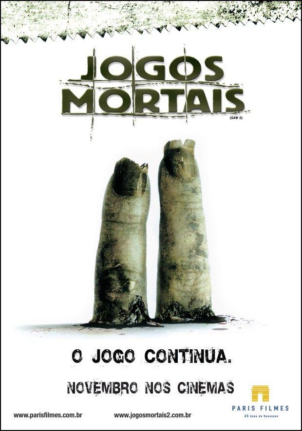 Jogos Mortais 2 Jogos Mortais Capas De Filmes Filmes