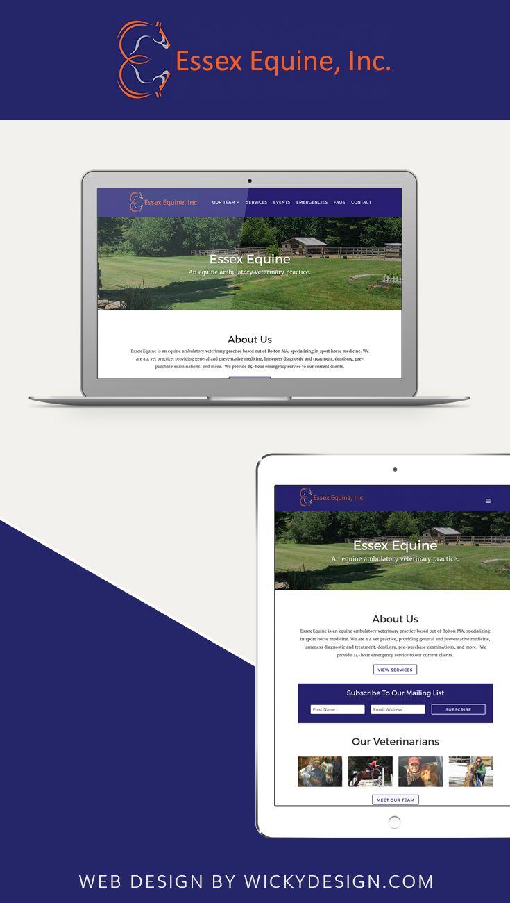 Website Redesign For Essex Equine Web Design Website Redesign Essex