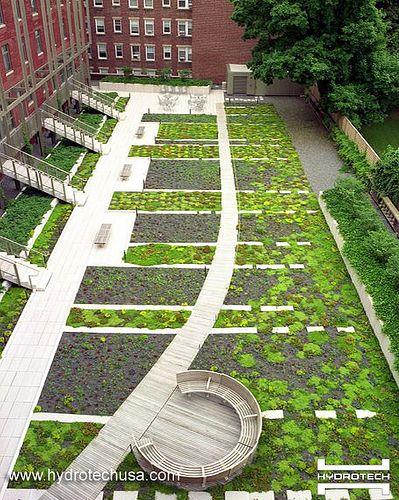 Contemporary Landscape Urban Design Garden Green Architecture Architects Beautiful Gardens Renzo Piano