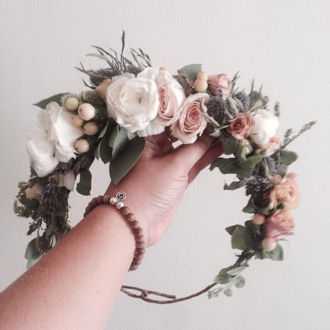 Baby Shower Flower Crown // www.thecrowncollective.co ...