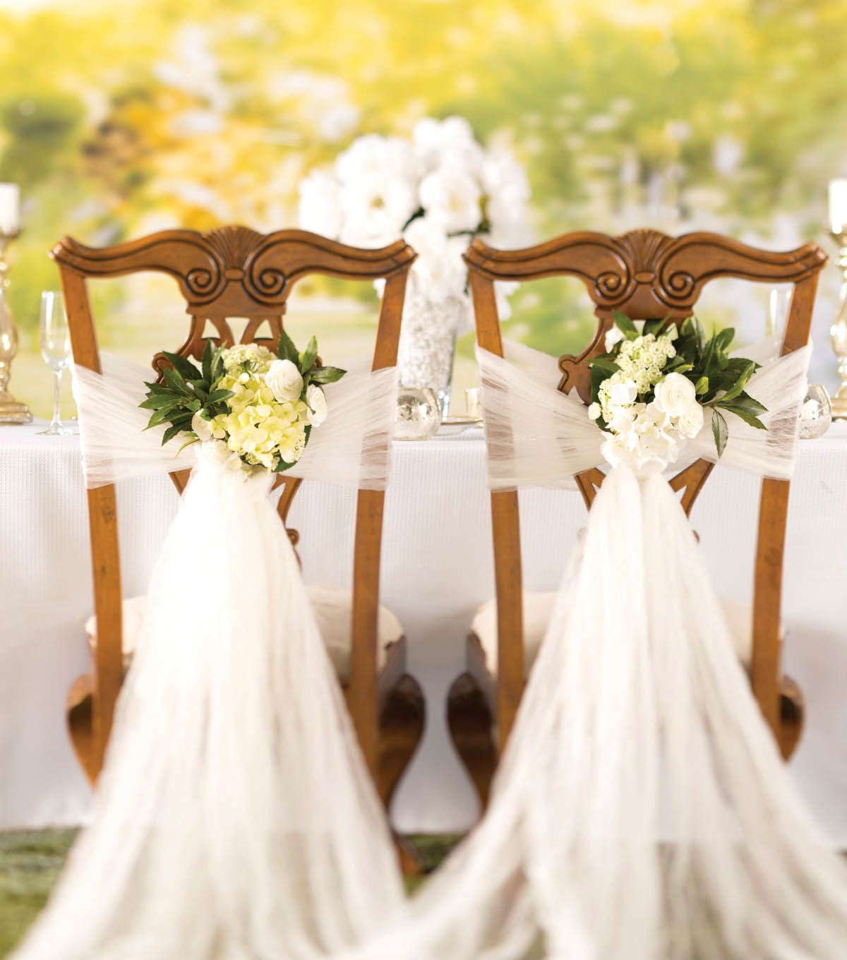 How To Make A Crushed Tulle Chair Dcor | DIY Wedding ...