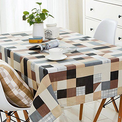 Situmi Tablecloth Table Cover Simple Rectangular Cotton Linen