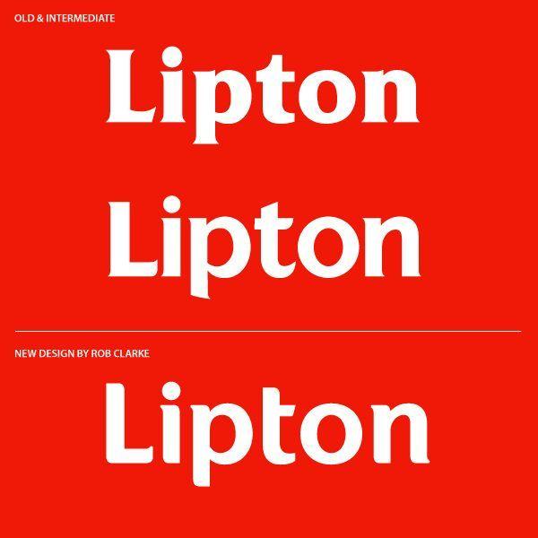 GD5 - Huisstijl - Lipton - Typografie
