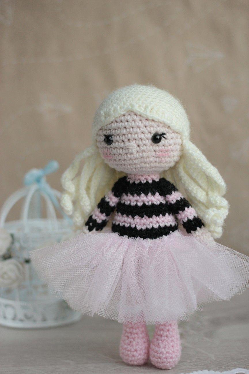 PDF Crochet pattern- Bell the Ballerina amigurumi doll tutorial ... | 1296x864