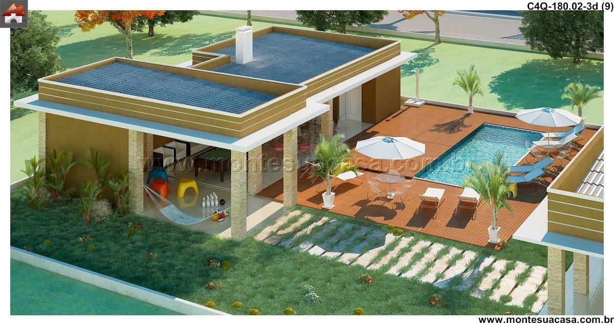 Casa - 4 Quartos - 180.02m²