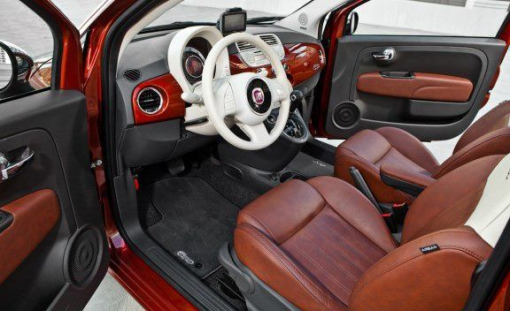 The FIAT 500 Lounge, offers those extras to give you those \