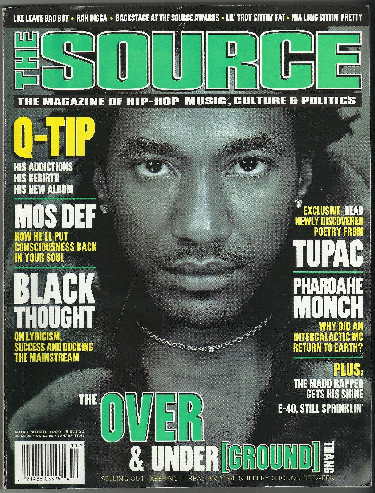 Q-Tip (Source Magazine, 1999)   I Used To Love H.E.R.   Pinterest ...
