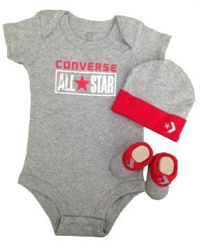 6b755f4daa7c73 Amazon.com  Converse Baby Bodysuit