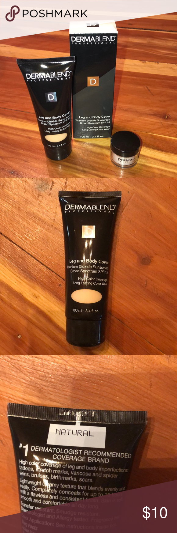 Dermablend Leg and Body Cover with Setting Powder