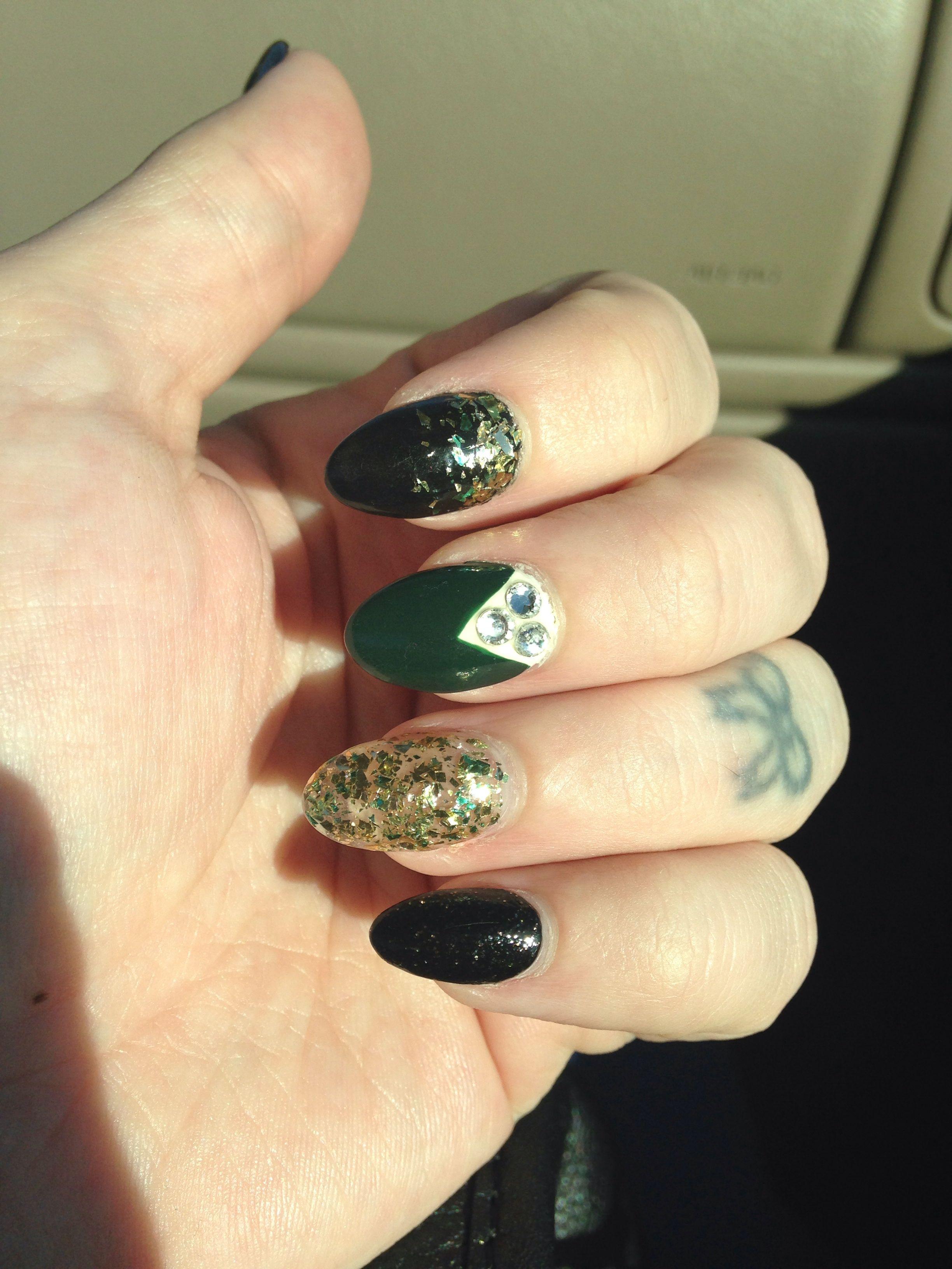 My Demi Lovato + The New Black Safari kit nails   Nails   Pinterest