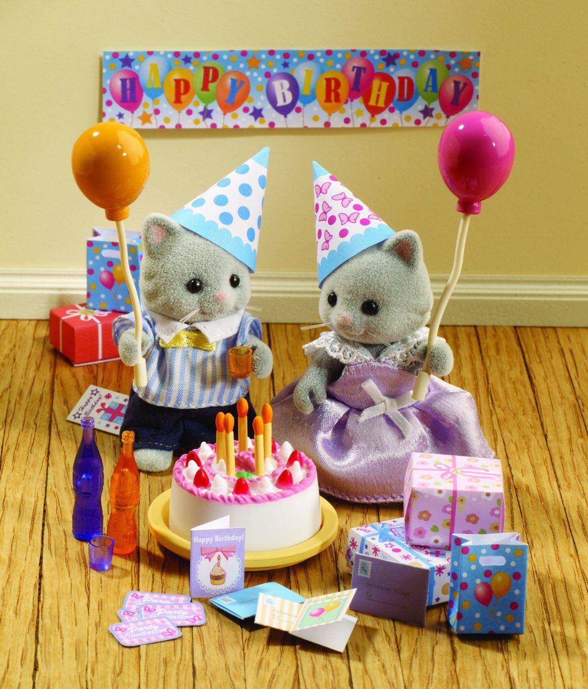 Sylvanian Families Birthday Party Set Toys