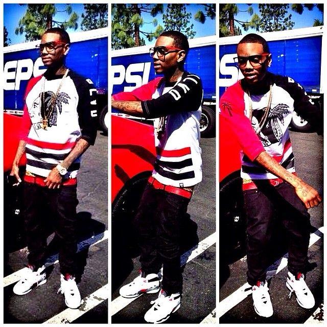 f7f0cfc336f75f Soulja Boy wearing the Air Jordan VIII Bugs Bunnys