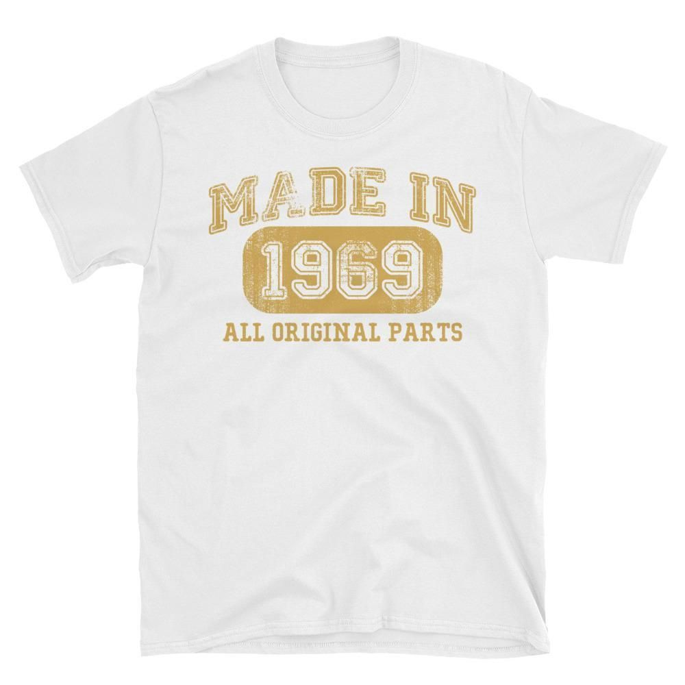 Unisex Made In 1969 All Original Parts T Shirt