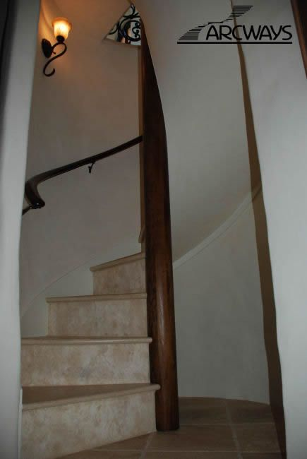 Enclosed Spiral Staircase