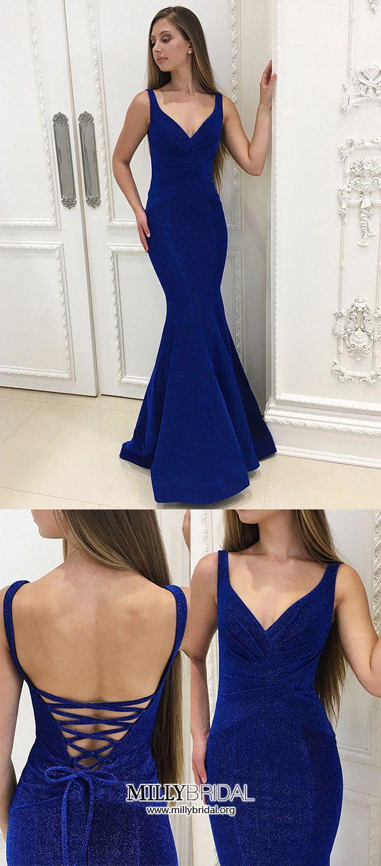 Prom dresses long formal evening dresses cheaproyal blue