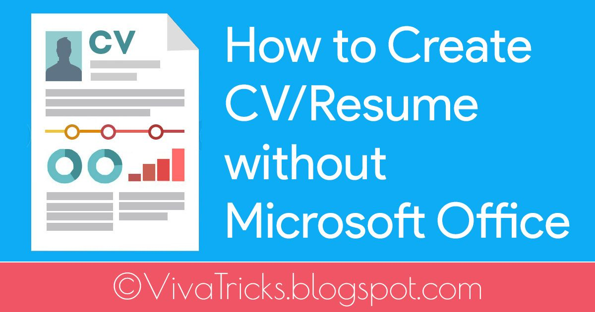 Creating a cv curriculum vitae or resume to be a very