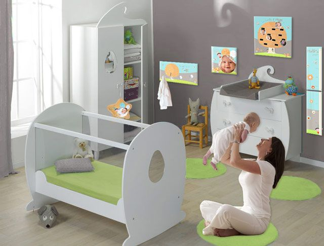 deco chambre bebe lutin visuel - Decoration Chambre Bebe Garcon