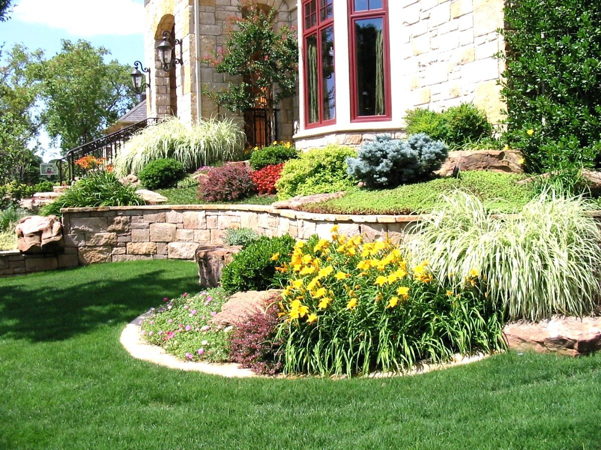 Front Yard Landscape Ideas Low Maintenance Low Maintenance