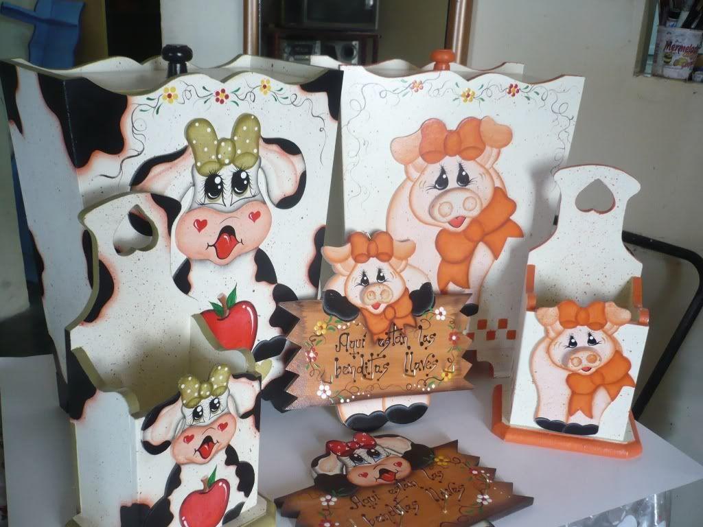 Manualidades vianey decoracion para la cocina cochinita for Manualidades para la cocina