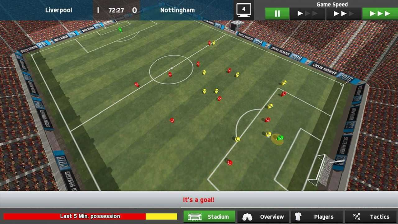 Soccer Manager 2018 Reviews News Descriptions Walkthrough And System Requirements Game Database Management Skills Management Flight Club