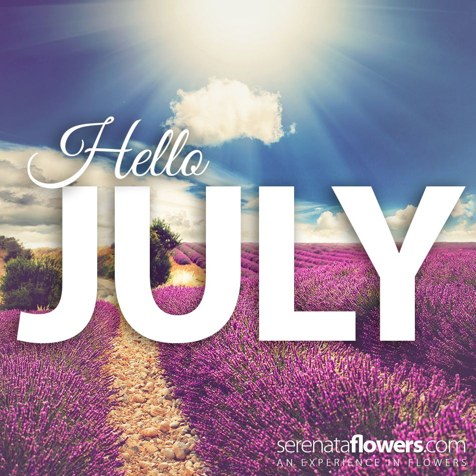 Say Hello to July! Do you have any exciting holidays
