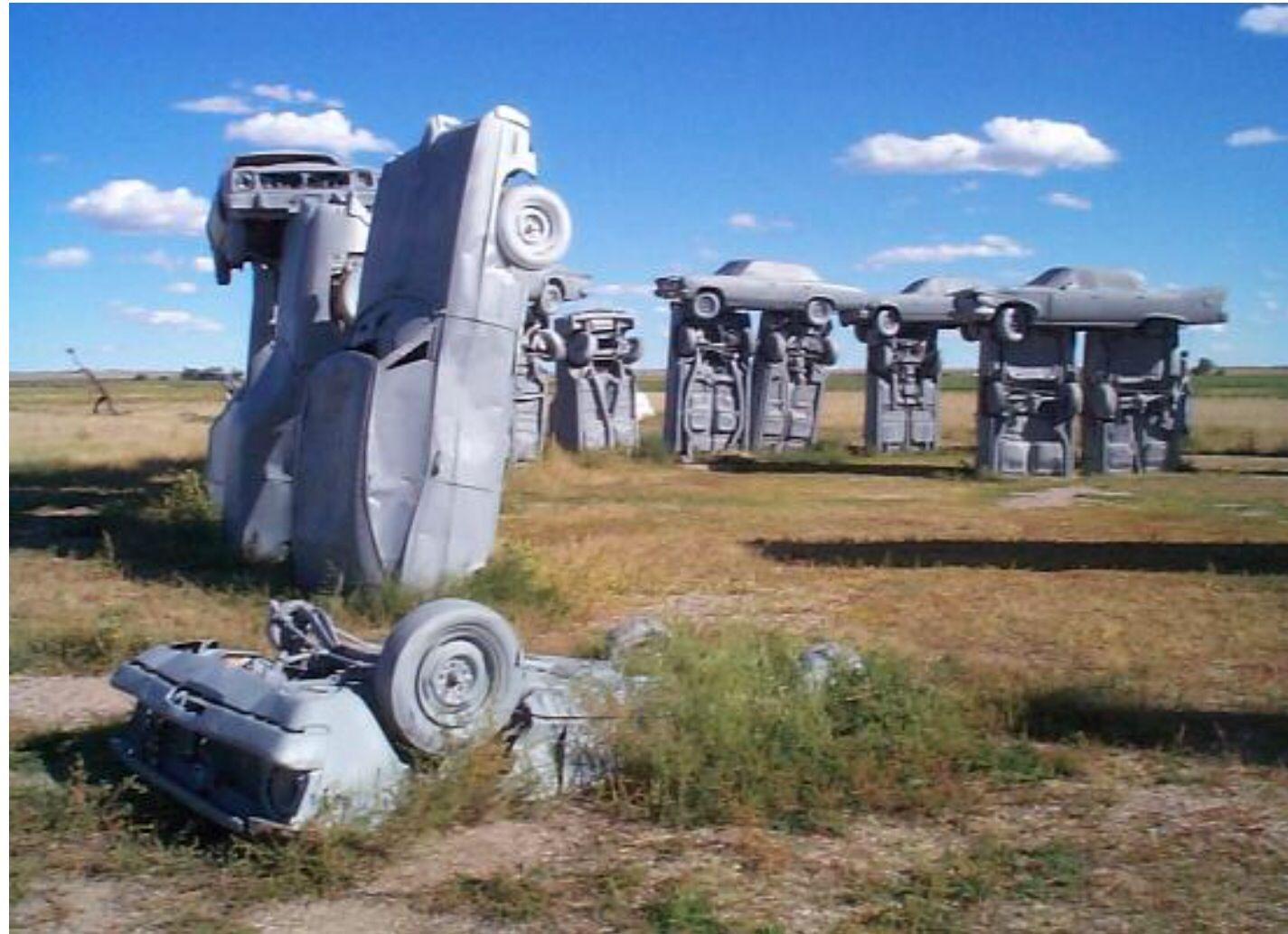 today i want: Carhenge, Nebraska