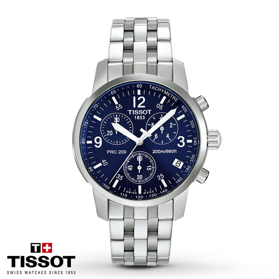 Jared Tissot Mens Watch Chrono PRC 200 T17158642 Watches