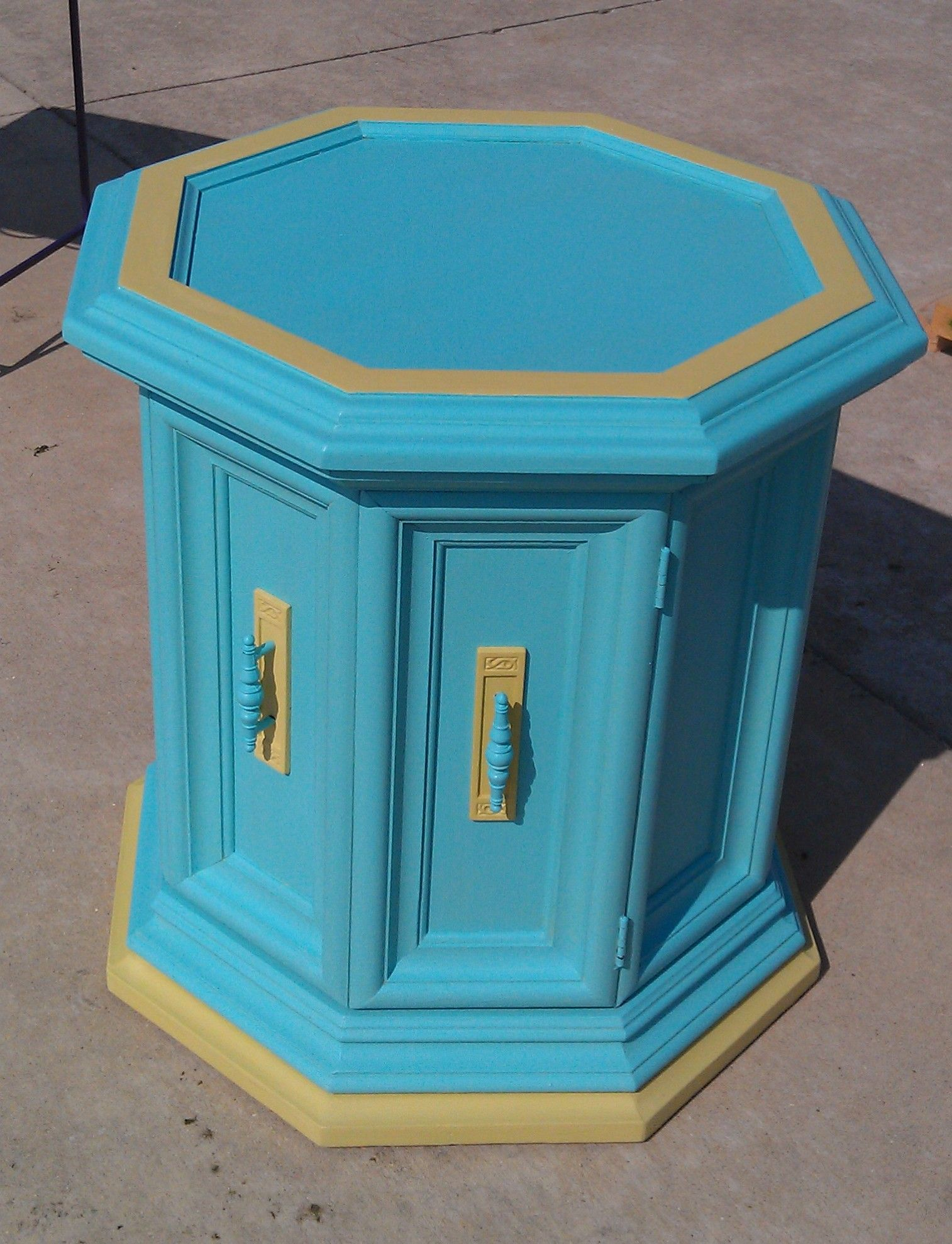 End Table Paint Ideas Chalk Painted End Table Stuff I Painted Pinterest Chalk