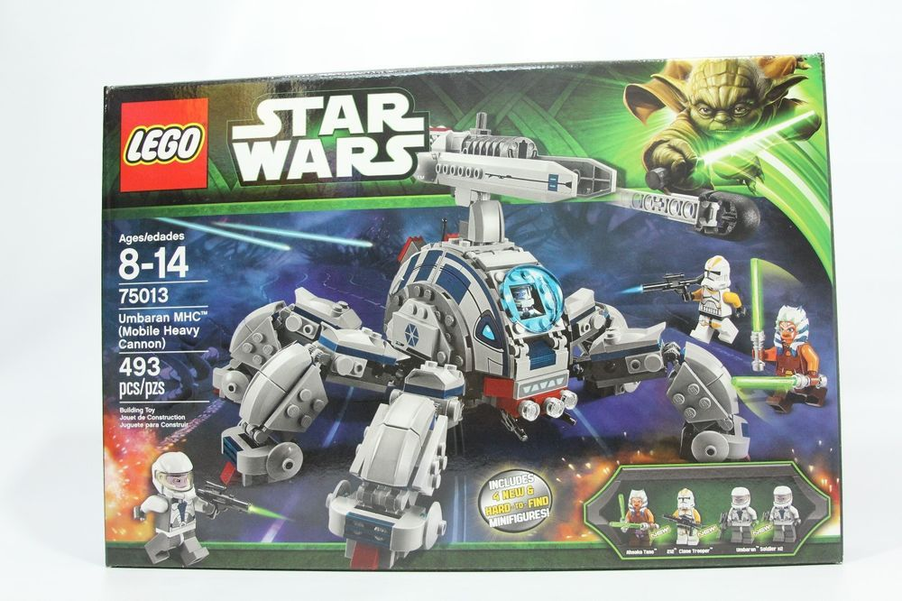 Lego 75013 Star Wars Umbaran Mhc Mobile Heavy Cannon New Free