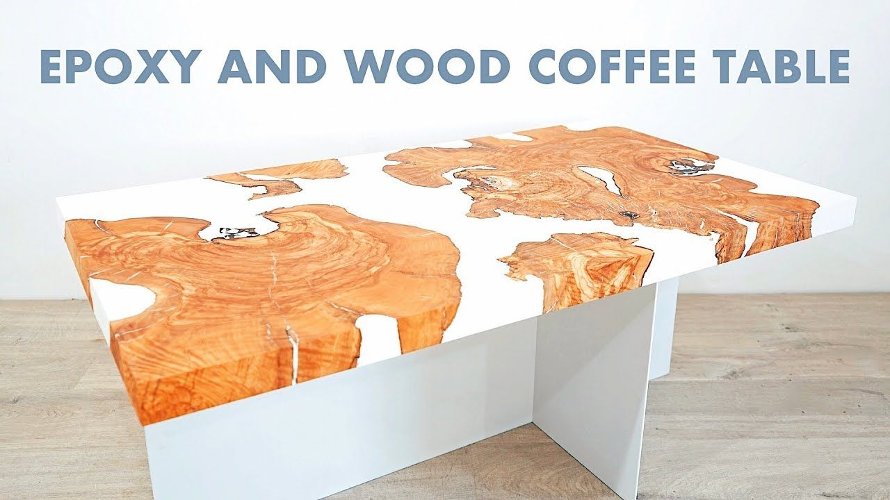Make Your Own Diy Live Edge Epoxy Resin Coffee River Table Via